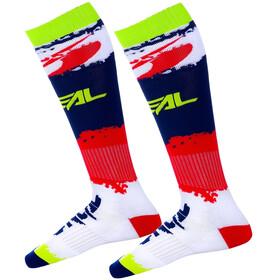 O'Neal Pro MX Calcetines, rojo/azul
